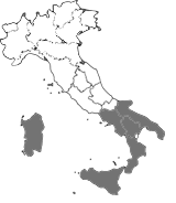 South Italy and islands